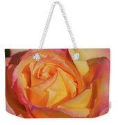 Large Peace Rose Center 006 Weekender Tote Bag