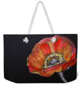 Large Poppy Weekender Tote Bag