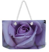 Large Purple Rose Center - 002 Weekender Tote Bag
