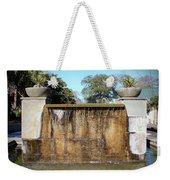 Large Water Fountain Weekender Tote Bag