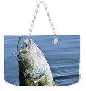 Largemouth Bass Weekender Tote Bag