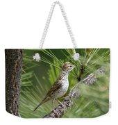 Lark Sparrow Weekender Tote Bag