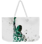 Larry Bird Weekender Tote Bag