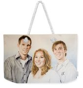 Lars Niels And Ilse Weekender Tote Bag