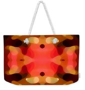 Las Tunas Abstract Pattern Weekender Tote Bag