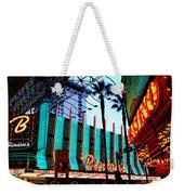 Las Vegas Lights II Weekender Tote Bag