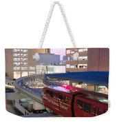 Las Vegas Monorail Weekender Tote Bag