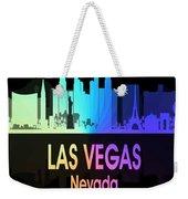 Las Vegas Nv 5 Vertical Weekender Tote Bag