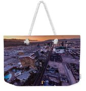 Las Vegas Strip Aloft Weekender Tote Bag