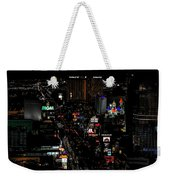 Las Vegas Strip Weekender Tote Bag