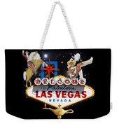 Las Vegas Symbolic Sign Weekender Tote Bag