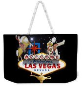 Las Vegas Symbolic Sign Weekender Tote Bag
