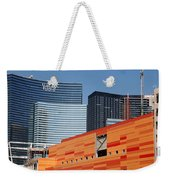 Las Vegas Under Construction Weekender Tote Bag