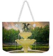 Lasdon Fountain Garden Weekender Tote Bag