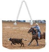 Lassoing The Calf Weekender Tote Bag