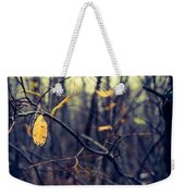 Last Bit Of Fall Weekender Tote Bag