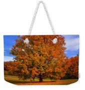 Last Call Of Fall Weekender Tote Bag