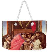 Last Communion Of St Jerome Weekender Tote Bag