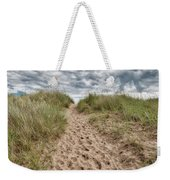 Last Effort Before Reaching The Beach... Weekender Tote Bag