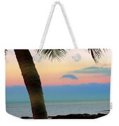 Last Evening Lights Weekender Tote Bag