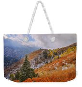 Last Fall Weekender Tote Bag