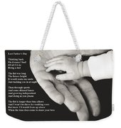 Last Father's Day Weekender Tote Bag