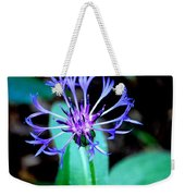 Last Flower In The Garden Weekender Tote Bag