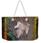Last Leaf Standing Weekender Tote Bag