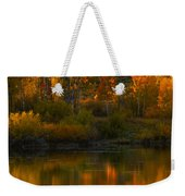Last Light At Oxbow Bend  Weekender Tote Bag