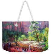 Last Light In Zion Weekender Tote Bag