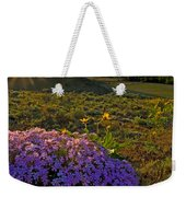 Last Light Of Spring Weekender Tote Bag