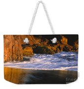 Last Light On Harris Beach Weekender Tote Bag