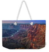 Last Light On The Canyon Weekender Tote Bag