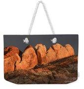Last Light Valley Of Fire Weekender Tote Bag
