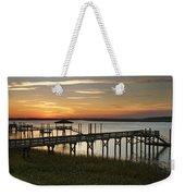Last Look At The River Weekender Tote Bag