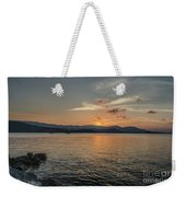 Last Moment Of The Day Weekender Tote Bag
