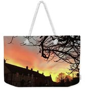 Last Night's Sunset From Our Cottage Weekender Tote Bag