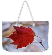 Last Of The Leaves Nature Photograph Weekender Tote Bag