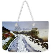 Last Of The Snow Weekender Tote Bag