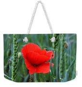 Last Poppy Weekender Tote Bag