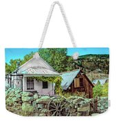 Last Post Office And Ice House Weekender Tote Bag