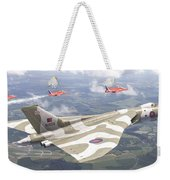 Last Royal Escort - Avro Vulcan Weekender Tote Bag