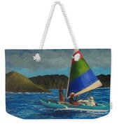 Last Sail Before The Storm Weekender Tote Bag