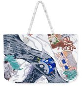 Last Snowman Of The Season Weekender Tote Bag