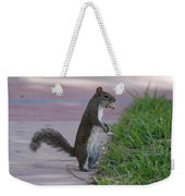 Last Squirrel Standing Weekender Tote Bag