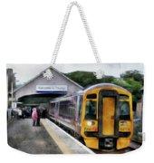 Last Stop Weekender Tote Bag