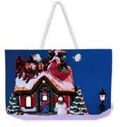 Last Stop For Santa Weekender Tote Bag
