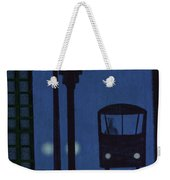 Last Stop For The Night Bus Weekender Tote Bag