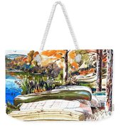 Last Summer In Brigadoon Weekender Tote Bag