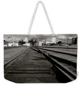 Last Train Track Out Weekender Tote Bag